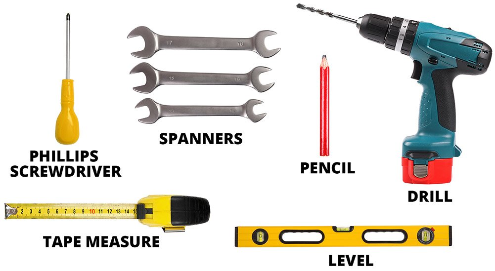 Tools Required For Wall Mounting A Tv
