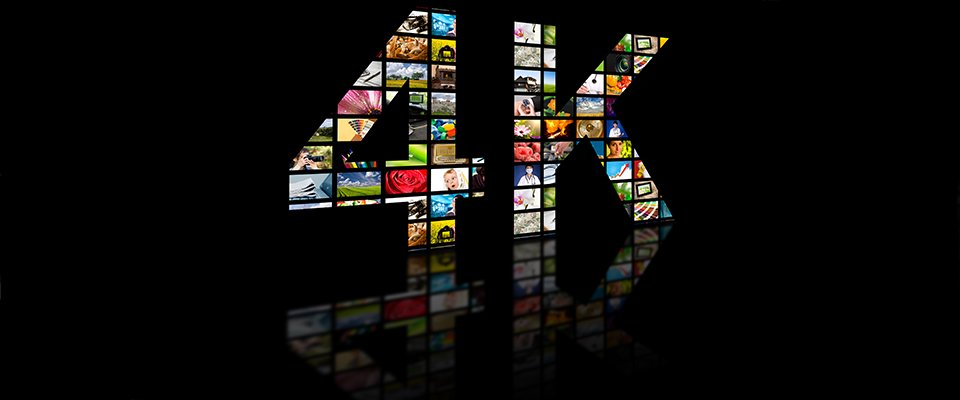 Understanding TV Resolution - Do You Need a 1080p or 4K HDTV? - 4K made from TV screens