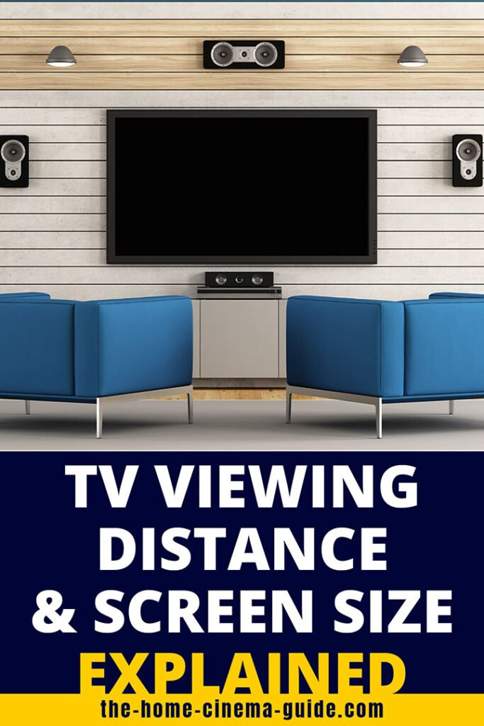 TV Viewing Distance and Screen Size Explained