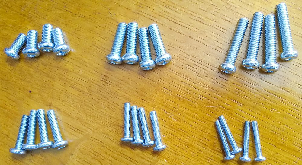 Screws For Securing The Mounting Plate To The Tv