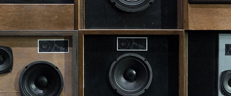 Vintage Bookshelf Speakers