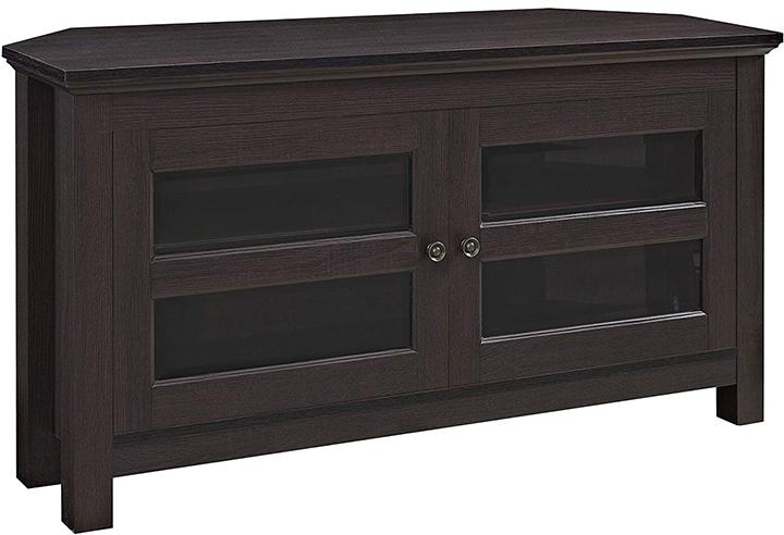 We Furniture Cordoba Espresso Corner Tv Stand