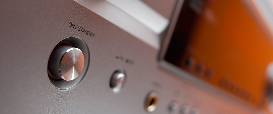 Yamaha Av Receiver Comparision – Tsr Series &Amp; Rx-S Series: Power Button Of An Av Receiver