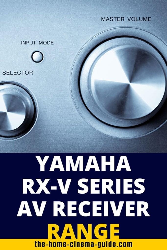 Yamaha Rx-V Series Av Receiver Range