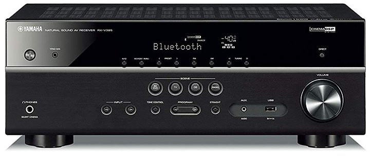 Yamaha RX-V385 5.1-Ch AV Receiver