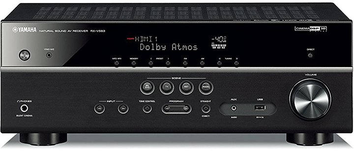Yamaha RX-V583 7.2-Ch AV Receiver