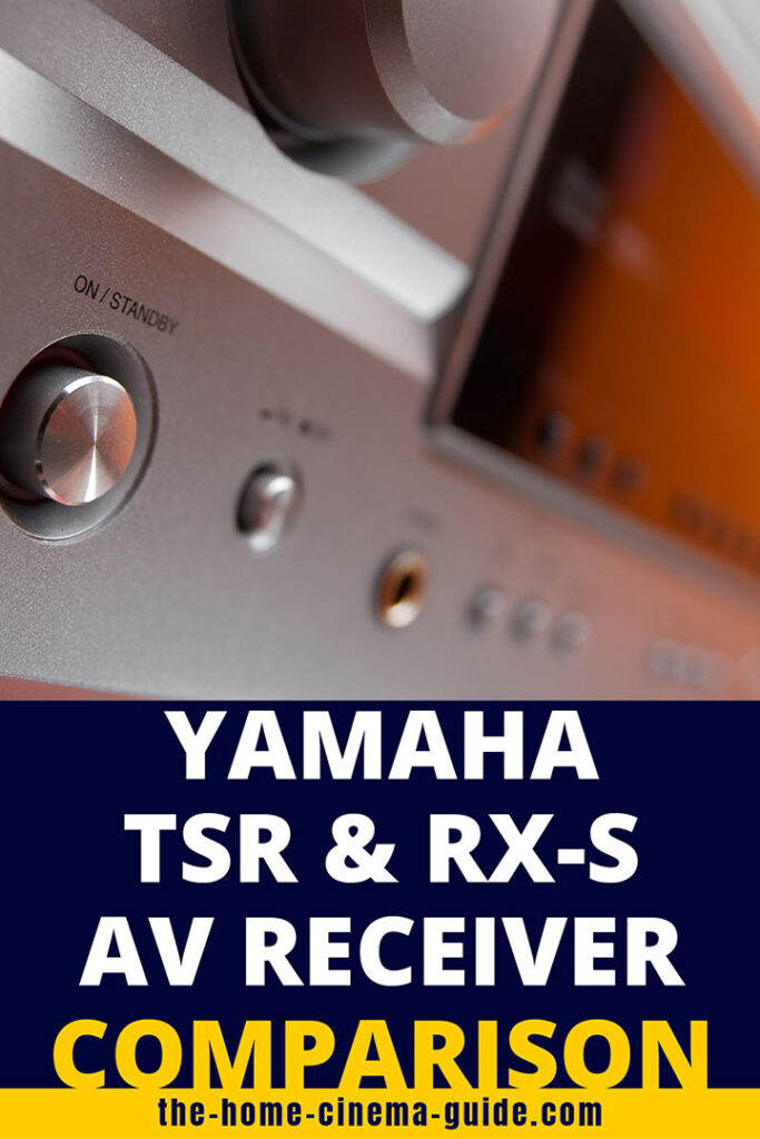 Yamaha Tsr &Amp; Rx-S Av Receiver Comparison